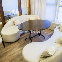 Производство мебели для ресторана Мёд Санкт-Петербург