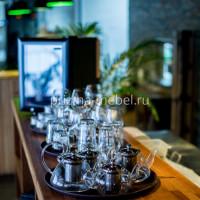 Производство мебели для ресторана Паруса на крыше Санкт-Петербург